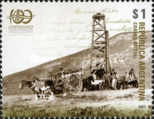 [The 100th Anniversary of the Discovery of Oil and Gas in Argentina, Typ DFM]