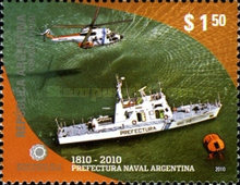 [The 200th Anniversary of the Argentine Naval Command, Typ DKV]