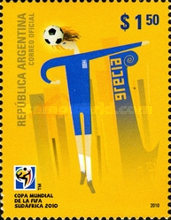 [Football World Cup - South Africa, Typ DLJ]