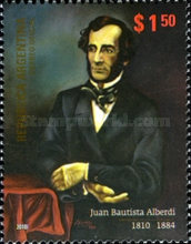 [The 200th Anniversary of the Birth of Juan Bautista Alberdi, Typ DME]