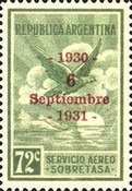 [Airmail - Anniversary of the Revolution, Typ DP1]
