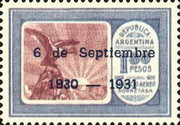[Airmail - Anniversary of the Revolution, Typ DP3]