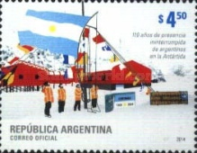 [The 110th Anniversary of Argentinian Presence in Antarctica, Typ DTC]