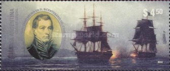 [The 200th Anniversary of the Naval Battle of Montevideo, Typ DTK]