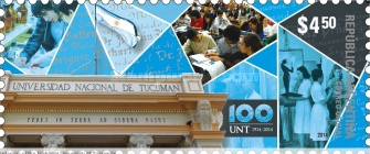 [The 100th Anniversary of the National University of Tucumán, Typ DTL]