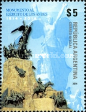 [The 100th Anniversary of the  Army of the Andes Monument, Typ DUA]