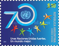 [The 70th Anniversary of the United Nations, Typ DVI]