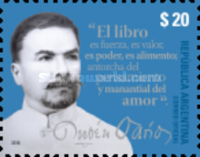 [The 100th Anniversary of the Death of Rubén Darío, 1867-1916, Typ DWJ]