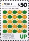 [Definitives, UP - Vegetables, Typ DZA]