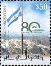 [The 80th Anniversary of the Argentine National Gendarmerie, Typ EAQ]