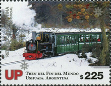 [Trains at the End of the World - Ushuaia, Argentina, type EBV]