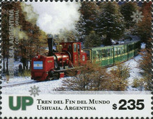 [Trains at the End of the World - Ushuaia, Argentina, type EBW]
