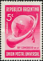 [Universal Postal Congress, Buenos Aires, Typ FD]