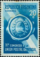 [Universal Postal Congress, Buenos Aires, Typ FF]
