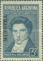 [The 100th Anniversary of the Death of Marco Manuel de Avellaneda, 1813-1841, Typ FZ]