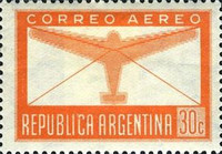 [Airmail - Airmail Stamps of 1940, Airplanes with New design, Typ GG]