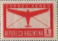 [Airmail - Airmail Stamps of 1940, Airplanes with New design, Typ GG1]