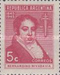[The 100th Anniversary of the Death of Bernardino Rivadavia, 1780-1845, Typ HH]