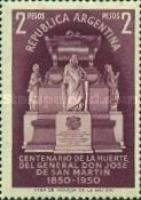 [The 100th Anniversary of the Death of San Martin, 1850-1950, Typ LM]