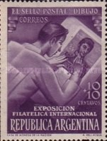 [International Philatelic Exhibition, Buenos Aires, Typ LN]