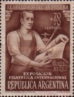[International Philatelic Exhibition, Buenos Aires, Typ LP]