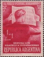 [International Philatelic Exhibition, Buenos Aires, Typ LQ]