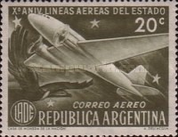 [Airmail - The 10th Anniversary of the State Airlines, Typ LV]