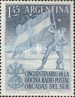 [The 50th Anniversary of the Argentine P.O. in South Orkneys, Typ MY]