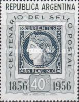 [The 100th Anniversary of the First Argentine Stamps, Typ NX]