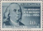 [The 250th Anniversary of the Birth of Benjamin Franklin, Typ OI]