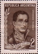 [Airmail - The 100th Anniversary of the Death of Admiral Guillermo Brown, Typ ON]