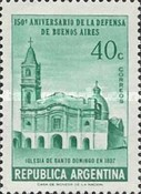[The 150th Anniversary of the Defence of Buenos Aires, Typ OP]