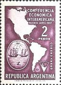 [Airmail, Inter-American Economic Conference, Typ OQ]