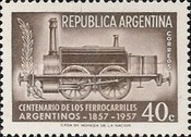 [The 100th Anniversary of the Argentine Railways, Typ OR]