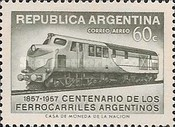 [The 100th Anniversary of the Argentine Railways, Typ OS]