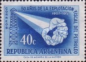 [The 50th Anniversary of the Argentine Oil Industry, Typ OY]