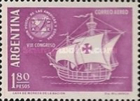 [Airmail - The 8th Anniversary of the Spanish-American P.U. Congress, type SB]