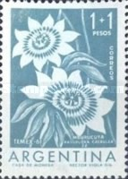 "[Flowers - International Thematic Stamp Exhibition, ""TEMEX"", type SJ]"