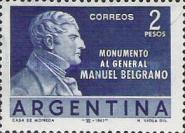 [The General Manuel Belgrano Commemoration, Typ TI]