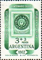 [International Philatelic Exposition, Argentina 1962, Typ TN]