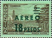 [Airmail - Airmail Stamp of 1959 Surcharged, Typ UF1]