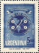 [Airmail - The 50th Anniversary of the Postal Union of Latin America, Typ UH]