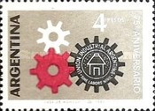 [The 75th Anniversary of the Argentine Industrial Union, Typ UN]