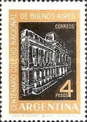 [The 100th Anniversary of the National College, Buenos Aires, Typ UO]