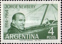 [The 50th Anniversary of the Death of Jorge Newbery, Aviator, Typ VN]