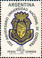 [The 350th Anniversary of the Cordoba University, Typ VW]