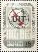 [Airmail - The 100th Anniversary of the I.T.U, Typ WL]
