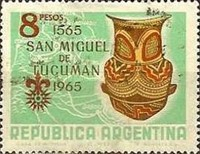 [The 400th Anniversary of the San Miguel de Tucuman, Typ XG]
