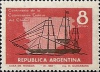 [The 100th Anniversary of the Welsh Colonization of Chubut and the Foundation of Rawson, Typ XJ]