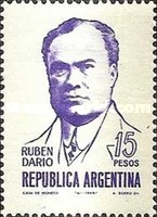 [The 50th Anniversary of the Death of Ruben Dario, type XR]